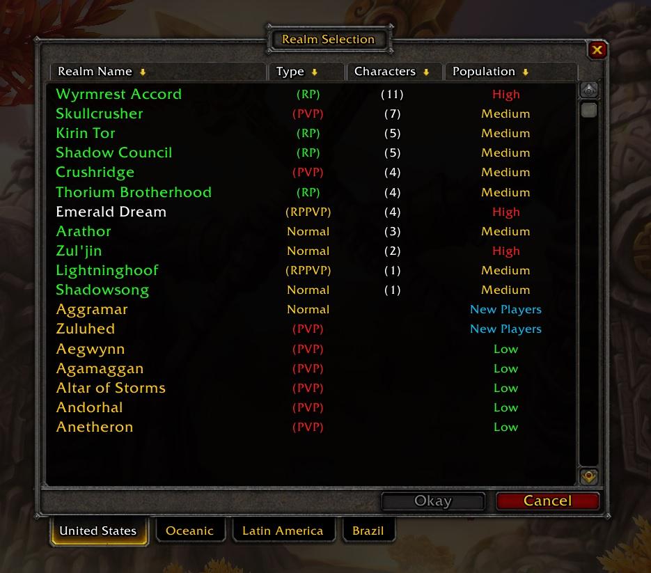 Gibt es noch einen echten RP-Server? - World of Warcraft